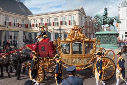 La Haya de gala para celebrar los 200 años de la monarquía holandesa