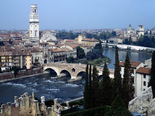 La belleza de Verona salta a la vista.
