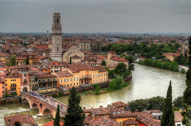 Vista genral de Verona.