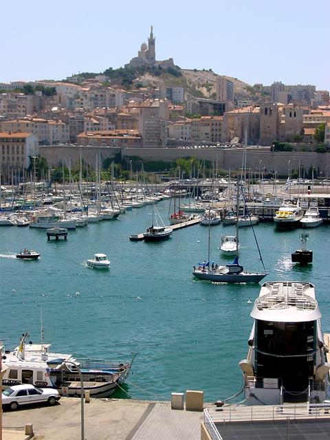 Marsella, puerto