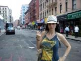 Con Beatriz Rico en Nueva York