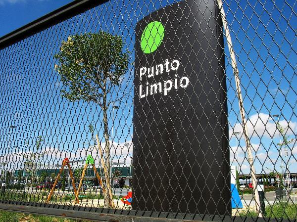 Punto Limpio en el aeropuerto de Valladolid