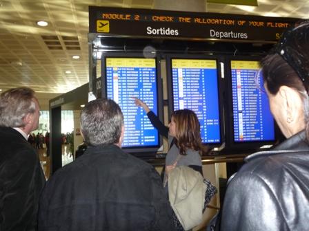 Aena, medidas adicionales de seguridad en los  vuelos directos con Estados Unidos.