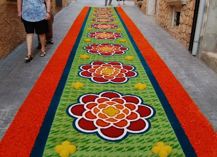 Elche de la sierra las alfombras de serr n ganas de viajar - Alfombras sierra ...