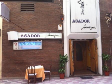 Asador Ansorena, la mejor carne de España
