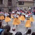 Miles de visitantes llegan cada año para participar en tan espectacular fiesta.