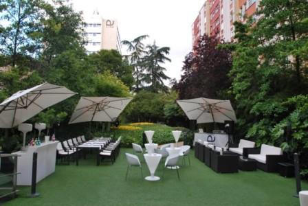 Ayre Gran Hotel Colón, terraza