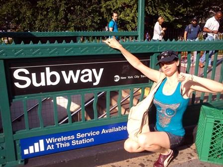 BEA 40. Metro en Nueva York