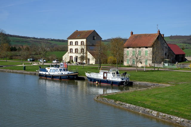 Pont Royal Sud en el Canal de Borgoña
