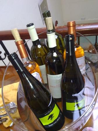 En Hungría hay muy buenos vinos.