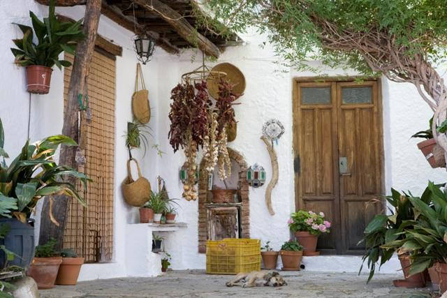 Rincón típico en Bubión.