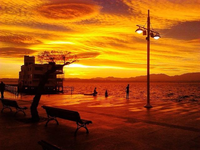 CANTABRIA AMANECER UNO. Amanecer en la bahía Foto Miguel Á. Miguélez