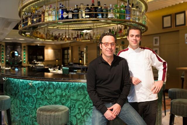 Miguel y Adrián Román, segunda y tercera generación en la cocina
