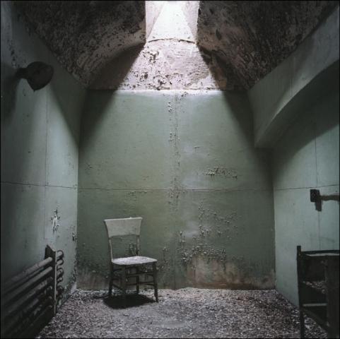 Aspecto de una celda. Hoy abandonada y descuidada.