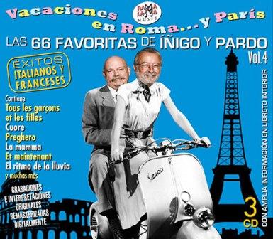 E En este triple CD hay 33 canciones italianas. Las más famosas de todos los tiempos, remasterizadas, en versiones originales y otras 33 francesas, igualmente conocidas y fanosasa. Si lo quieres conseguir pídelo en www.elmusiquero.com
