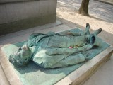 París, Cementerio Père Lachaise, más célebres muertos que vivos