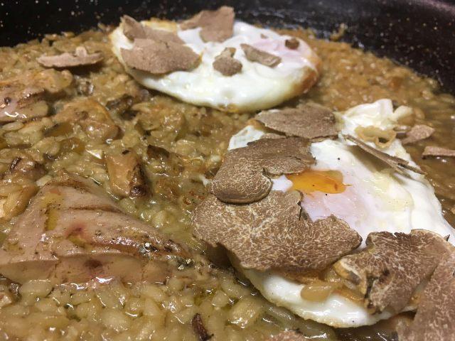 Floren Domezain, Madrid, un arroz muy especial