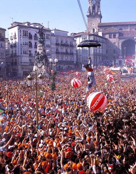 Fiestas de la Blanca en Vitoria-Gasteiz