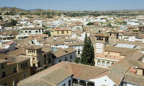 Vista general de Guadix