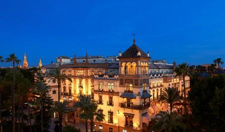 HOTEL ALFONSO XIII de Sevilla