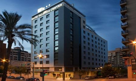 Hotel Valencia Center, en el lugar preciso.
