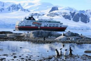 A la península Antártica, y en español