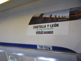 Publicidad en los aviones