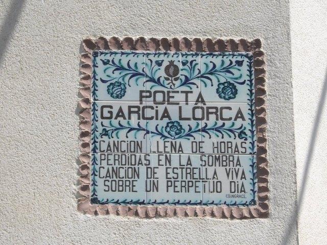 Granada:Recordando a Federio García Lorca.