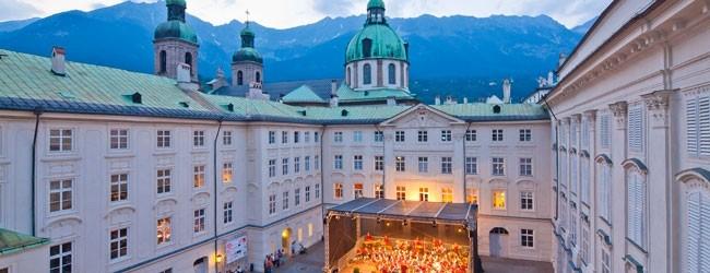Innsbruck, Austria: Conciertos al aire libre en verano