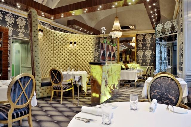 Interior del restaurante Onyx