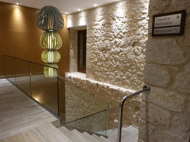 Detalle del interior de Balneario de Valbuena