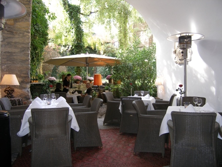 Jardín interior del Pierrot.