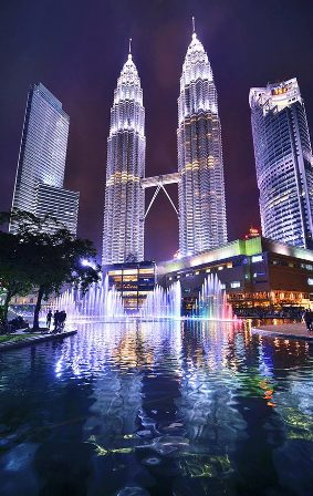 Foto-enigma: Torres Petronas, Kuala Lumpur, Malasia