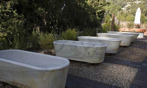 Bañeras del balneario
