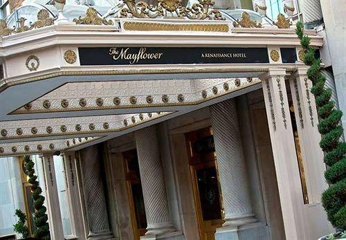 The Mayflower, de Washington, un hotel lleno de secretos.