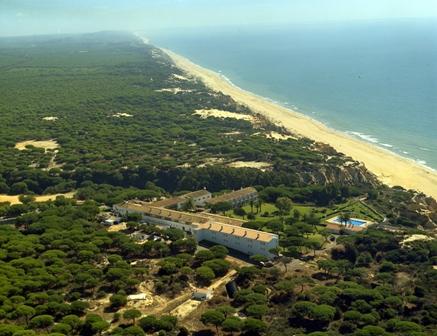 Parador de Mazagón, entre dunas y pinos