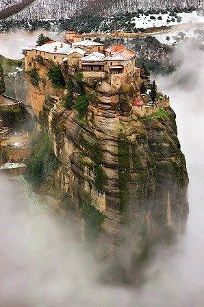 Foto-enigma: Monasterios de Meteora, Grecia.