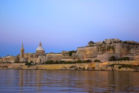 Valetta,capital de Malta, escapada de Otoño