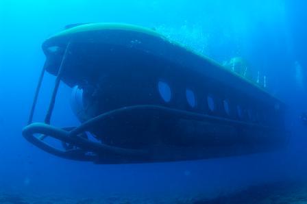 Descubrir el fondo marino de Maspalomas a bordo del llamado Submarino Amarillo es una auténtica gozada.