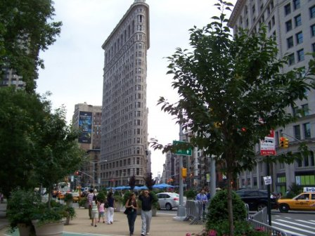 Foto-enigma: Edificio Flatiron (Fuller) Nueva York