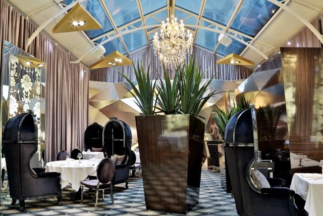 El lujoso restaurante Onyx