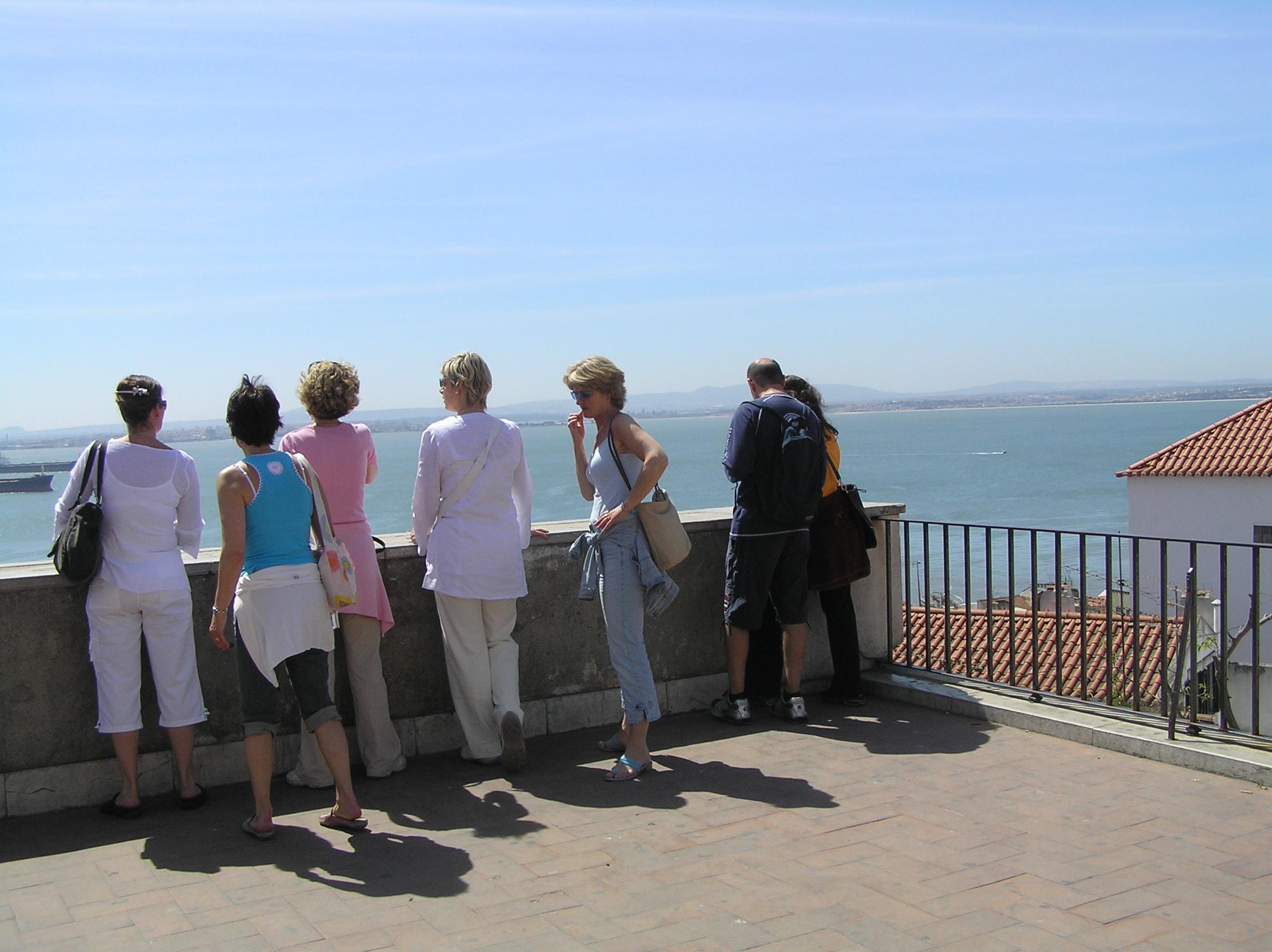 No hay turista que se pierda las vistas desde lo alto del castillo.