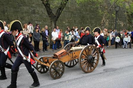 PAMPLONA Recreacion_batalla_ciudadela_1813_4