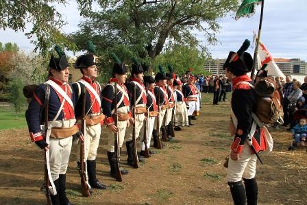 PaAMPLONA Recreacion_batalla_ciudadela_1813_2