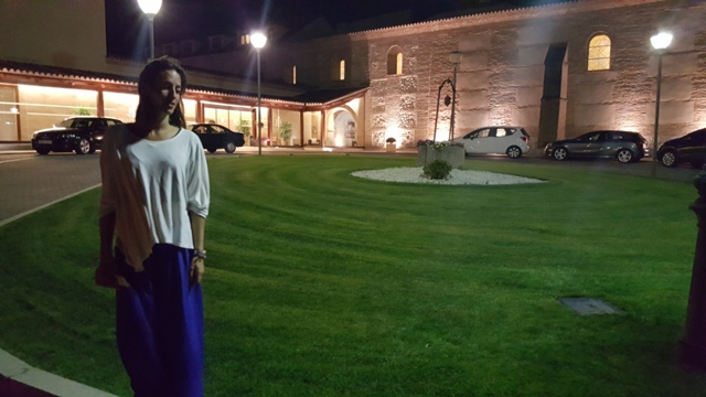 Noche en el Balneario de Olmedo.