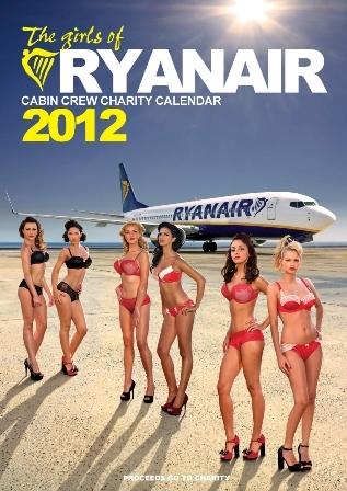 La tripulación de cabina de Ryanair se desnuda