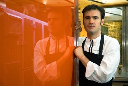 Senen, el alma del Sagartoki y creador de su famosa tortilla congelada