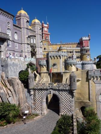 SINTRA castillo de Pena en Sintra 3