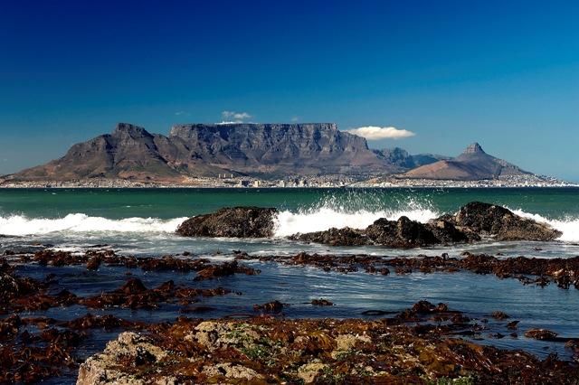 Montaña de la Mesa (Table Mountain) en Ciudad del Cabo