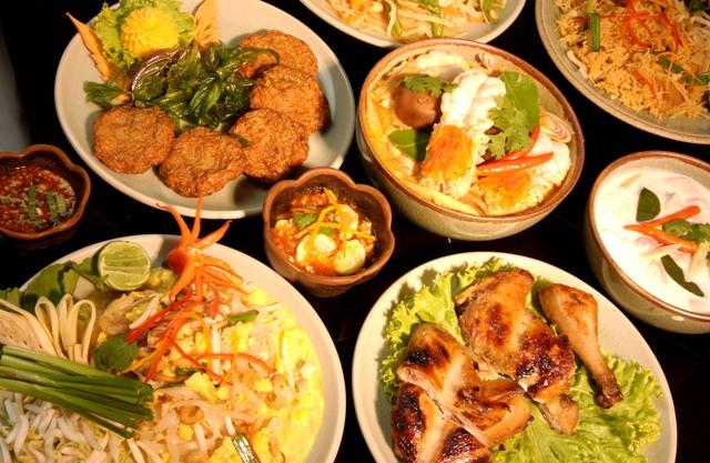 Platillos de la interesante y especiada cocina tailandesa.